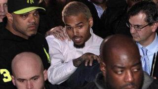 Rapero Chris Brown ingresa voluntariamente a centro rehabilitación