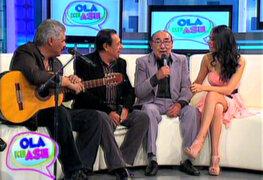 Se armó la jarana: Óscar Avilés y familia rinden homenaje a la canción criolla
