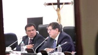 Los audios de Alan García ante la megacomisión del Congreso