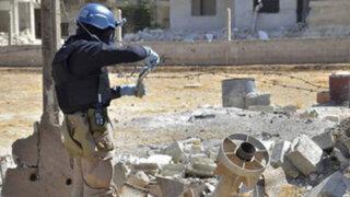 Siria culminó con la destrucción de sus fábricas de armas químicas
