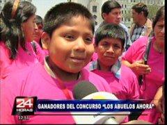 Ganadores del Concurso 'Los Abuelos Ahora' recorrieron atractivos limeños