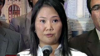 Keiko devolverá dinero que le aportó empresario vinculado al narcotráfico