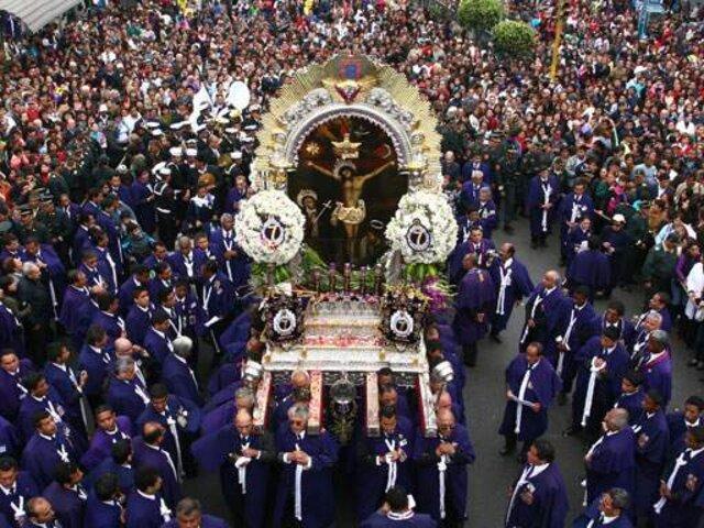Conozca el plan de desvío vehicular por primera procesión del Cristo Moreno