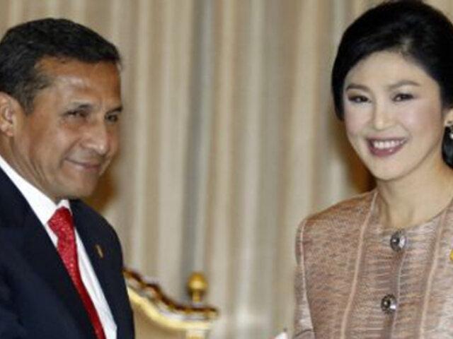 Perú y Tailandia concluyen negociaciones del TLC para ser socios estratégicos