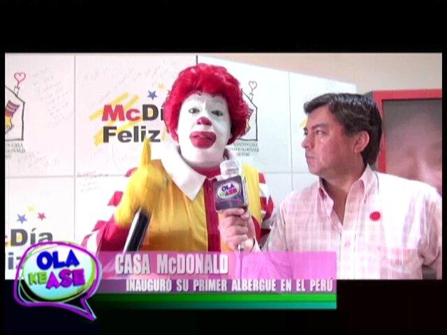 McDonald's organizará el McDía Feliz 2013 en beneficio de albergue infantil