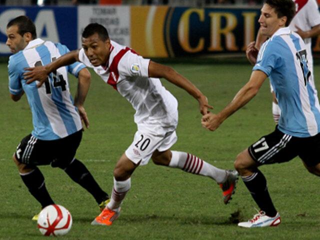 Selección peruana se juega el honor ante Argentina en el Monumental de River