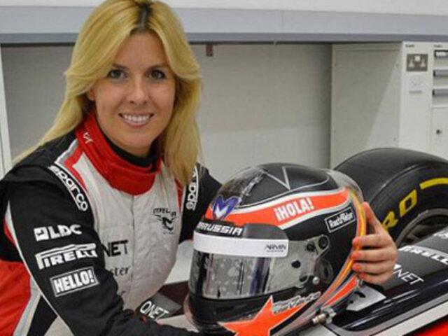 María de Villota, ex piloto de fórmula 1, fue hallada muerta en un hotel de Sevilla