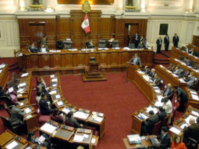 Congreso debate sistema de elección del Defensor del Pueblo, TC y BCR