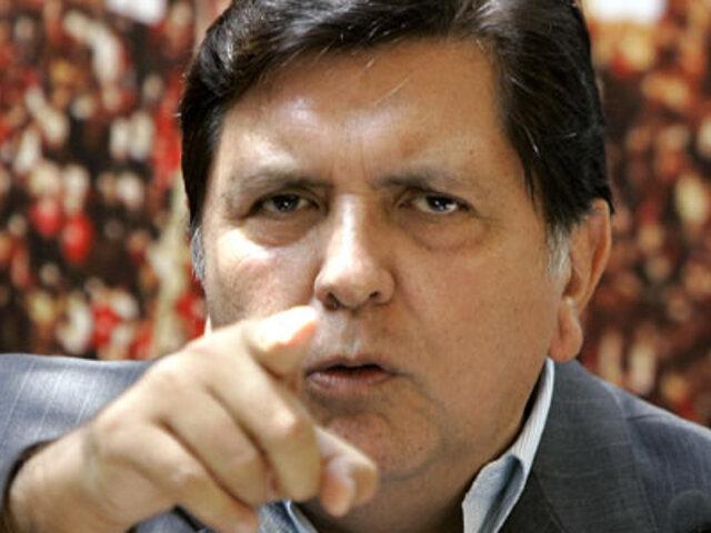 Alan García pide detener programa Qali Warma debido a alimentos en mal estado