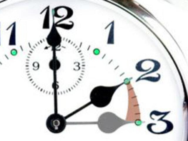Los relojes se atrasarán una hora este domingo en países de Europa