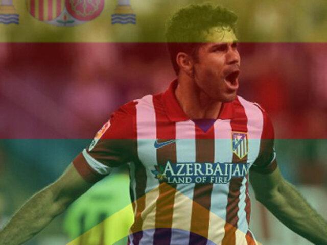 Mundial 2014: Diego Costa renuncia a Brasil y oficializa que jugará por España