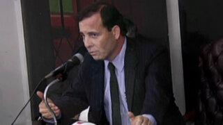Colegio de Abogados de Lima se pronuncia contra sentencia a Aldo Mariátegui