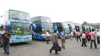 Precios de pasajes a provincias se normalizan en terminales terrestres de Lima