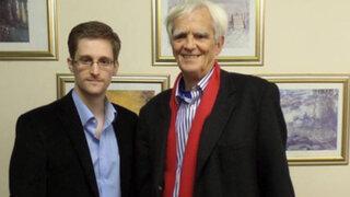 Snowden ofrece apoyar a Alemania en investigaciones sobre espionaje de EEUU