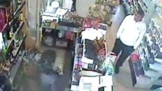 Piura: cámaras de seguridad permiten capturar a ladrón de supermercados
