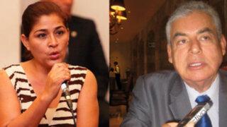 Revelan que Nancy obregón postuló en partido del premier Villanueva Arévalo