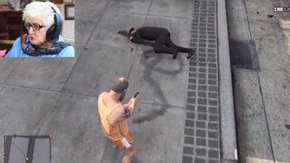 Abuela pierde el control jugando Grand Theft Auto para combatir la ira