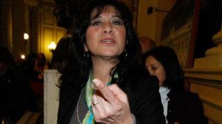 Rechazan desactivar subcomisión de DDHH presidida por Martha Chávez