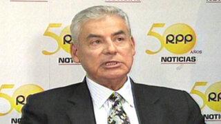 Premier César Villanueva descarta vínculos con Nancy Obregón