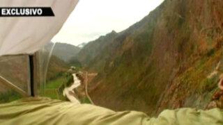 Insólito refugio en las alturas: conozca el Skylodge Adventure Suites