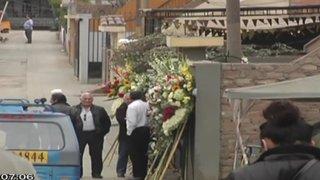 Desconocidos arrojaron granada durante velorio de un policía en Ventanilla