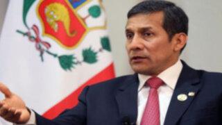 Ollanta Humala: Llamar 'Ley Antauro' a nueva norma es mañosería política
