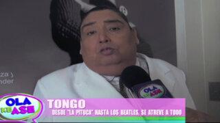 'Tongo' cuenta detalles de sus fenómenos musicales en una divertida entrevista