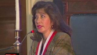 Congresistas apoyan designación de Martha Chávez frente a comisión de DDHH