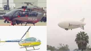 Conozca los helicópteros que patrullarán Lima para combatir inseguridad ciudadana