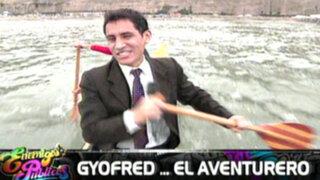 Gyofred, el aventurero: reportero visita los deportes extremos de la 'Expo Aventura'