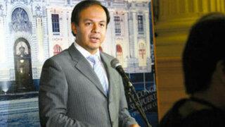 Presidente de comisión López Meneses cuestiona envió de José Cueto a la OEA