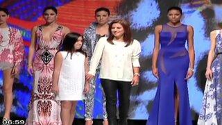 Glamour y diseño peruano destacaron en primer día del Lima Fashion Week