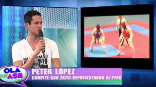 Taekwondista Peter López promete retener medalla de oro en Juegos Bolivarianos