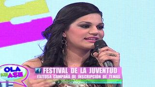 Kristell Casanova continúa trayendo más detalles del 'I Festival de la Juventud'