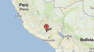 Sismo de 4,1 grados remece localidad de Cabanaconde en Arequipa