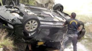 Cuerpos de tres jóvenes que murieron en Canta llegaron a la Morgue de Lima