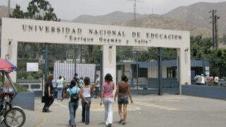 Cerca de 100 estudiantes intentaron tomar la universidad de La Cantuta