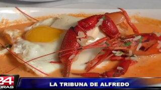 La Tribuna de Alfredo: La Chalupa nos ofrece un exquisito 'Chupe de camarones'