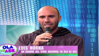 La Capitana presenta a un grande del tenis nacional, Luis Horna Biscari