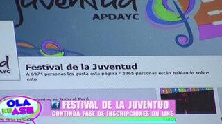 Festival de la Juventud: Conozca a los primeros participantes y sus canciones