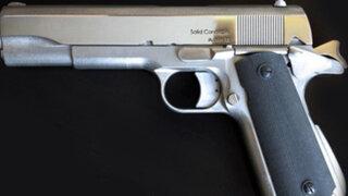 VIDEO: construyen la primera pistola metálica con una impresora 3D