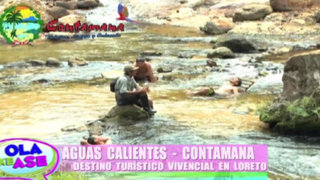Aguas Calientes-Contamana: Conozca una de las maravillas de la ciudad de Loreto