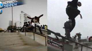 """Deporte Joven: Niño de 14 años """"la rompe"""" en competencias de skate profesional"""