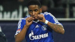 Jefferson Farfán reapareció con gol en la victoria del Schalke 04