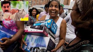 """Nicolás Maduro acusa a una tienda de """"especular"""" precios y ordena saqueo"""