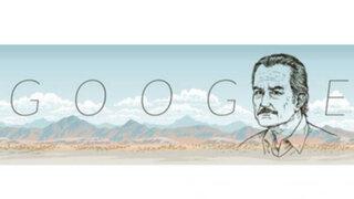 Escritor Carlos Fuentes es homenajeado en un doodle de Google