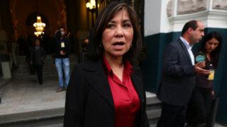 Martha Chávez fue ratificada como coordinadora del subgrupo de DD.HH.