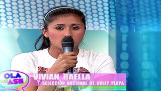 Vivian Baella promete llegar hasta la final de los Juegos Bolivarianos