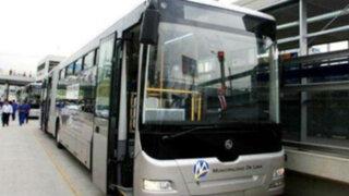 Bus de El Metropolitano atropelló a un hombre en el Centro de Lima