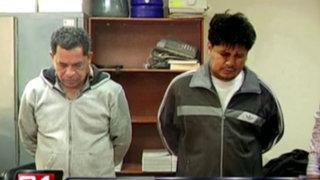 VIDEO: capturan a delincuentes que asaltaron ferretería en San Miguel